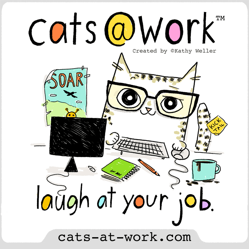 Cats@Work: Laugh at your job!