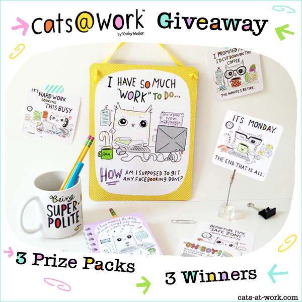 Cats@Work Giveaway!